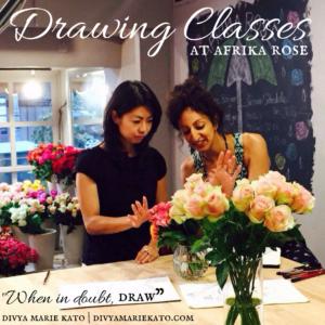 Drawing Class Course Afrika Rose 2