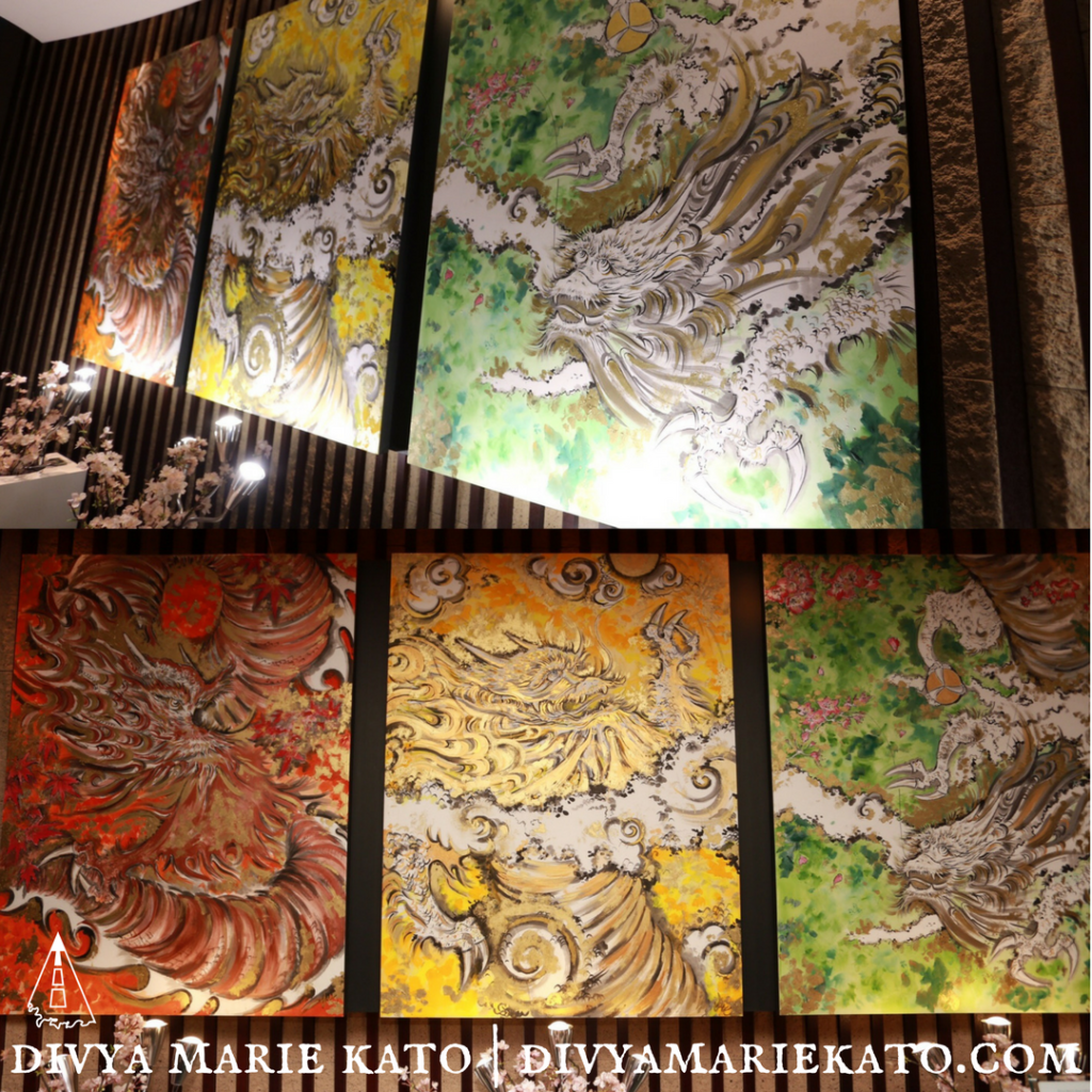 Painting Commission ANA Intercontinental Tokyo