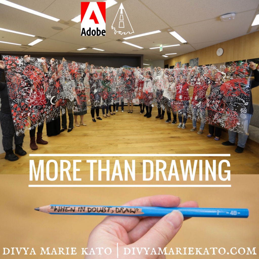 When In Doubt, Draw Creative Empowerment Workshop Adobe Japan