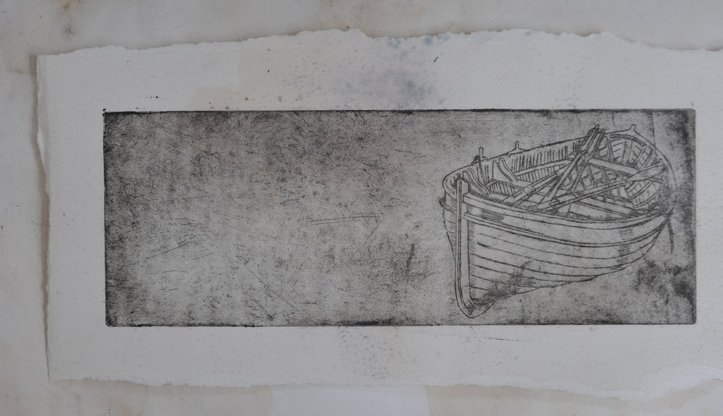 Boat Etching