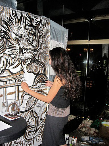 DMK Live Painting