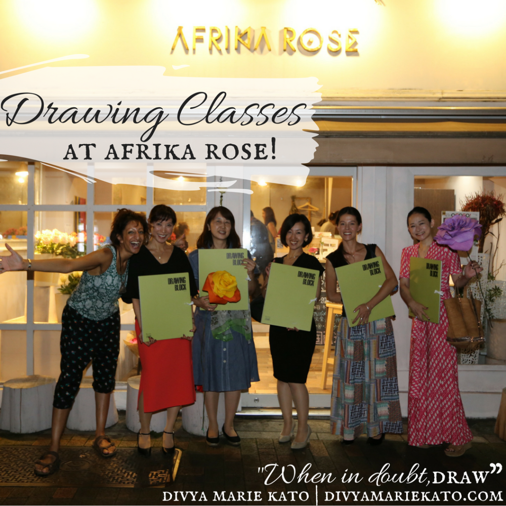 Drawing Classes Afrika Rose