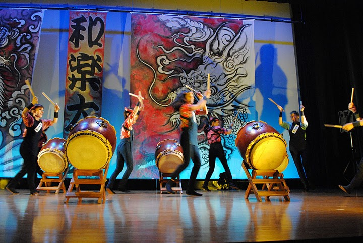 Waraku Daiko Murals, Private Collection 2012 ©