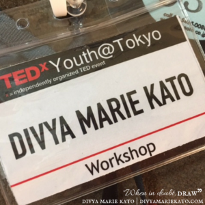 TED x Youth Drawing Workshop 2016