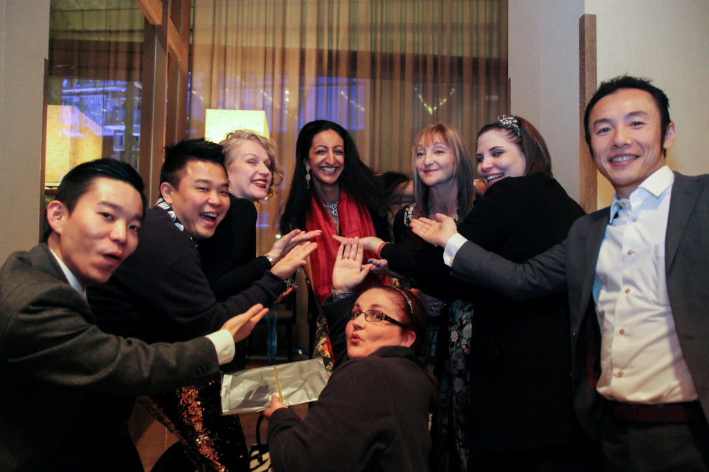 Divya's Film Opening Party Dec 2015
