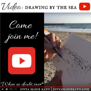 Drawing Retreat By The Sea