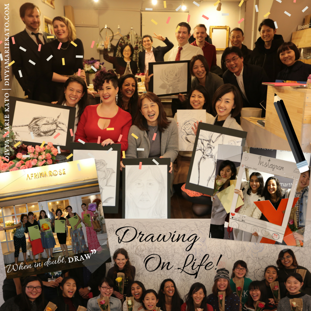 Drawing On Life: Drawing Classes & Workshops with Divya