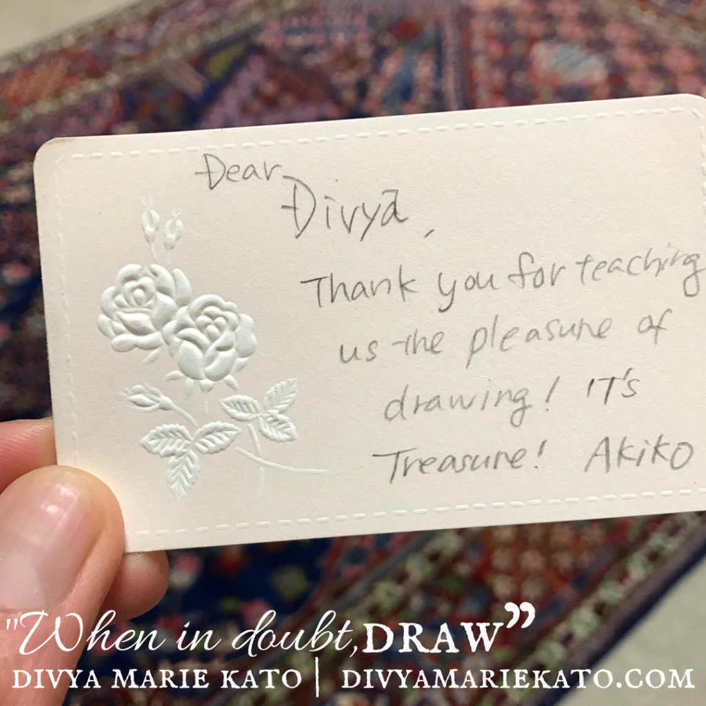 Drawing: A Way Of Finding Treasure