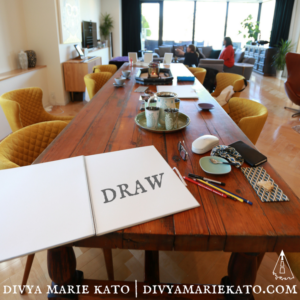 Drawing Classes With Divya Marie Kato