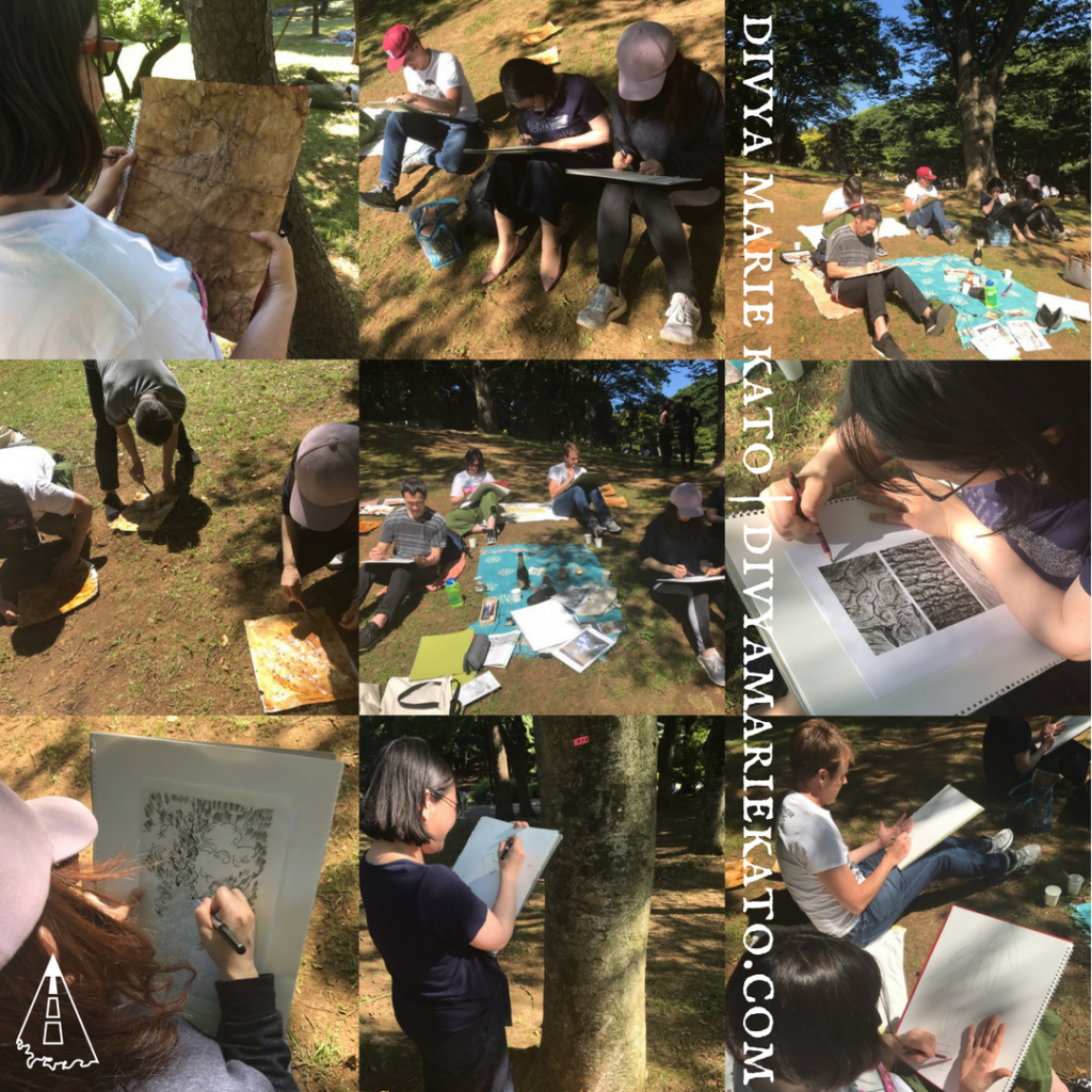Art In The Park Workshop