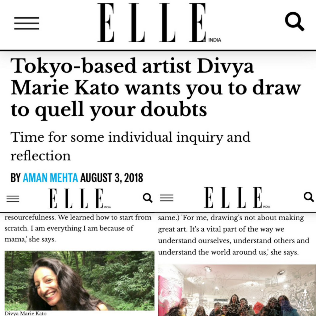 ELLE India Feature Divya Marie Kato