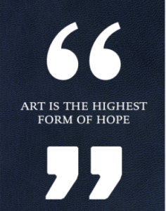 Art For Hope: Stories About The Power Of Art To Help & Heal