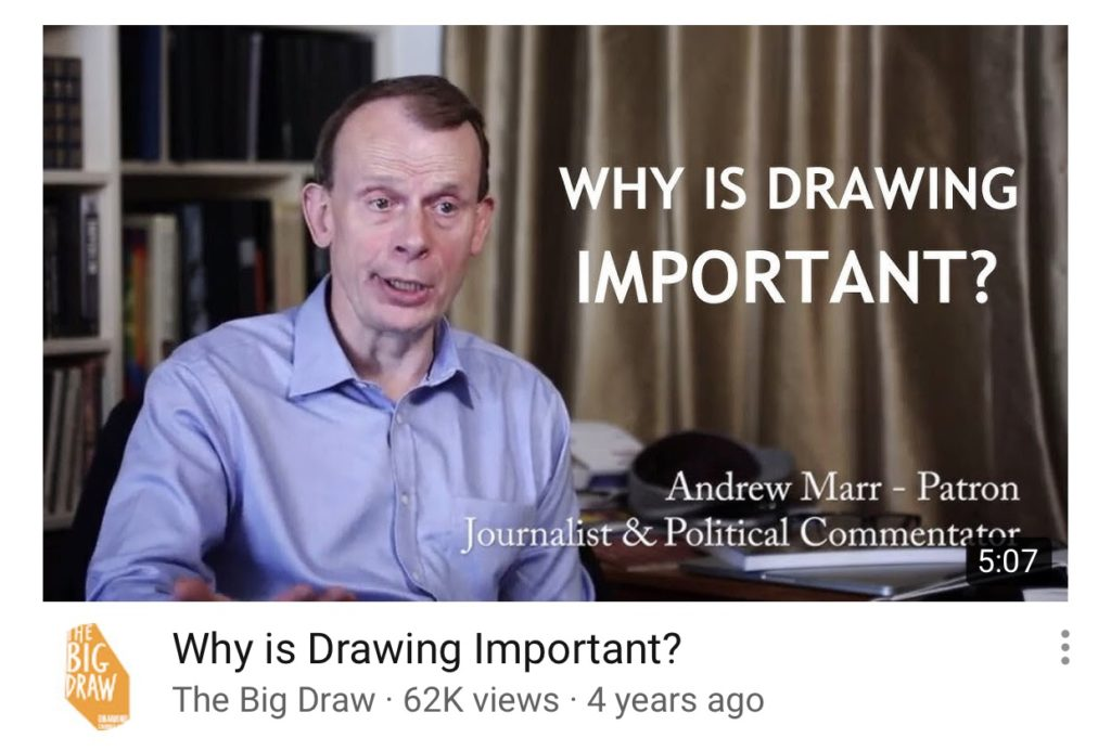 The Big Draw Drawing Is Important