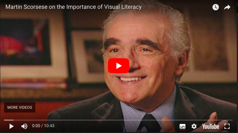 Martin Scorsese Visual Literacy