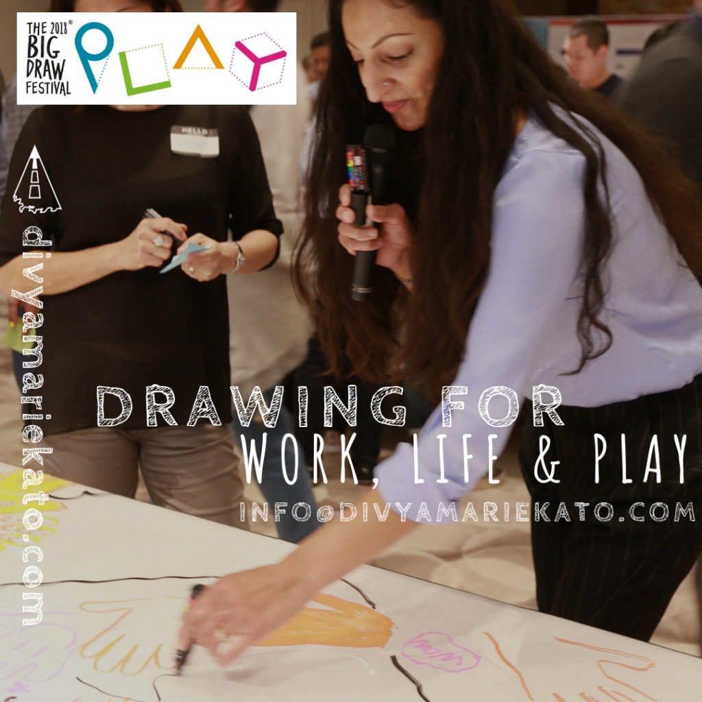 Divya Marie Kato: Drawing For Work, Life & Play