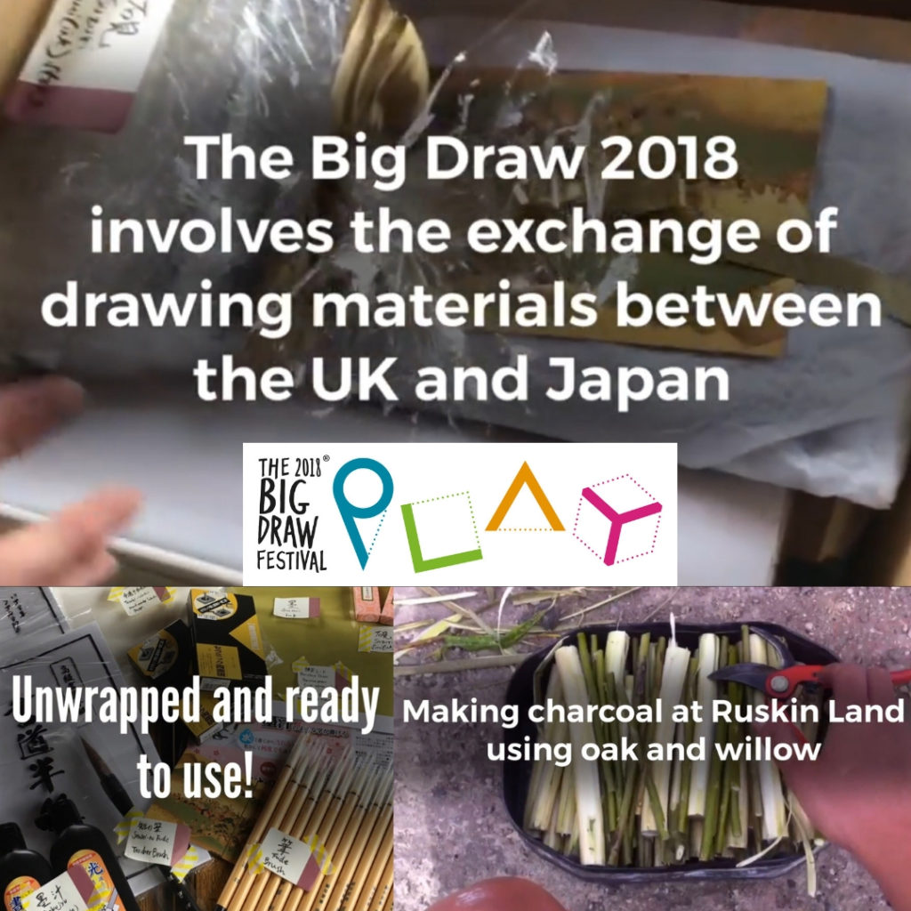 The Exchange: Japan-UK Big Draw 2018