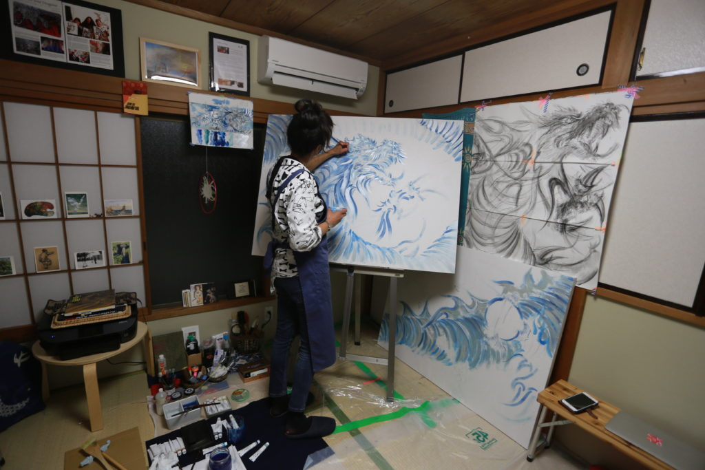 Divya Marie Kato, Tokyo-Based Artist, CEO Atelier Kato Tokyo