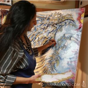 Divya Marie Kato, Artist & CEO Atelier Kato Tokyo