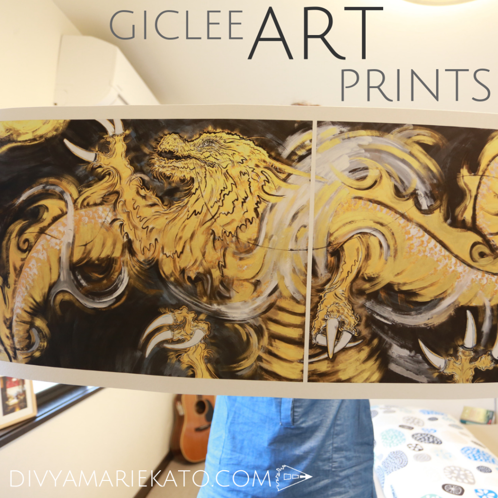 Giclee Art Prints: 2 Sizes, Printed On 100% Cotton Rag, Warm Tone, Textured Matte, Archival Etching Paper