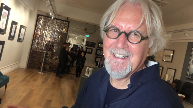 Sir Billy Connolly's Drawing Exhibition