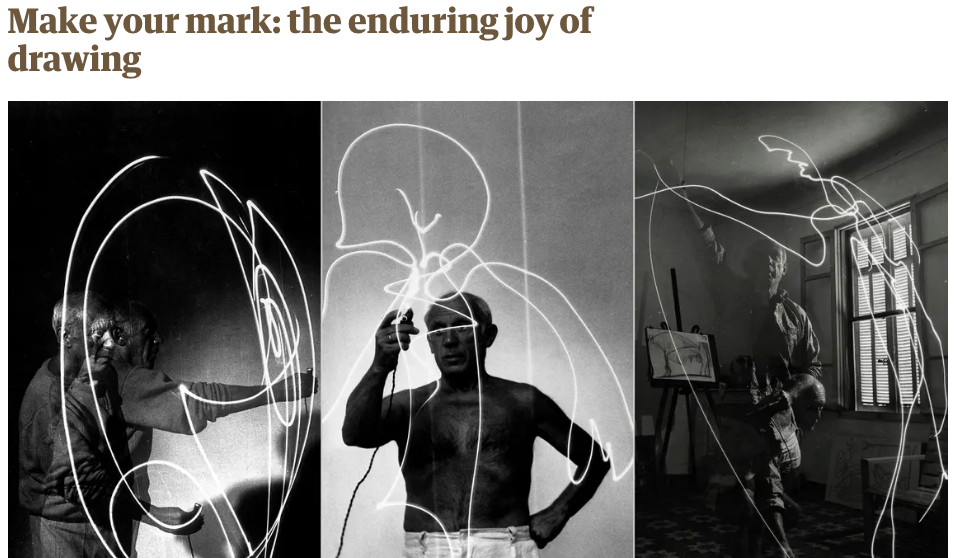 Make Your Mark: The Enduring Joy Of Drawing