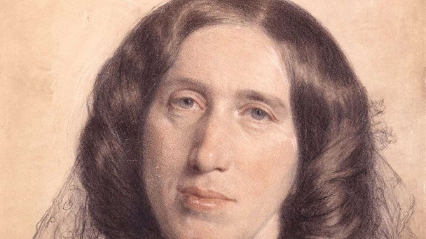 George Eliot by Sir Frederic William Burton, National Portrait Gallery London ©
